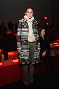 Pin for Later: Les Stars Sont au premier Rang Pour la Fashion Week de New York Olivia Palermo Au défilé Diane von Furstenberg.
