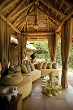 Animals - wildlife - safari - Phinda The Homestead, Phinda Private Game Reserve, South Africa Bungalows, Outdoor Rooms, Outdoor Living, Indoor Outdoor, Outdoor Lounge, Outdoor Decor, Deco Boheme Chic, Game Lodge, Private Games