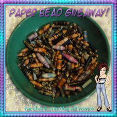 Rapid Promo's: Paper Bead Giveaway!