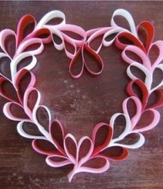 pinterest PRIMITIVE valentine's decoration | Valentine crafts for kids - Hearts 60 and more tutorials