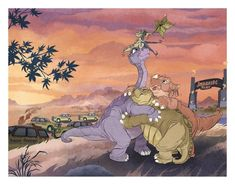 Great Valley Tours Clear Acrylic Organizer/serving Tray by Drea D. - Medium 15 x Land Before Time, Unusual Things, Iphone Skins, Jurassic Park, Coloring Pages, Pop Art, Tours, Art Prints, Gallery