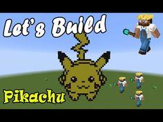 #LetsBuild - PixelArt - Pikachu - Minecraft ITA