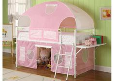 Girl Tent Bunk Bed