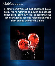 El amor romántico es mas poderoso que el sexo...