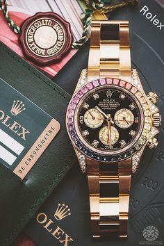 2b39fc7cd6f35d Gentleman Watch, Rolex Daytona, Fine Watches, Wrist Watches, Men s Watches,  Luxury Watches For Men, Lady Luxury, Luxury Life, Cufflinks