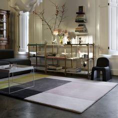 Colour Carpet 05 kleed - Hay -  Scholten & Baijings - Bij Flinders vind je prachtige Design Meubels, Moderne Verlichting en de leukste Woonaccessoires. #vloerkleed #woonkamer