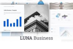 Luna Powerpoint theme by BazicLab on @creativemarket