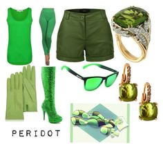 """peridot steven universe"" by shutchapiehole ❤ liked on Polyvore featuring French Connection, IconoFlash, LE3NO, Forzieri, Funtasma, Peppers, Valentin Magro and Pomellato"