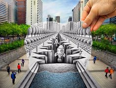 Ben Heine: Penciling in Seoul  Seoul Searching