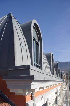 Bâtiment administratif, Bellegarde (France) by Baillet JP   #architecture #zinc #france #bellegarde