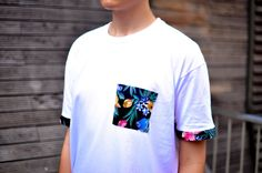 RDIY -DIY: Tutorial - how to recycle an old T-shirt's sleeves? How to make a pocket on a T-shirt?