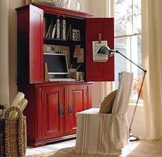 Offic Bedroom On Pinterest Computer Armoire Armoires
