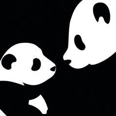 Black background, white dots