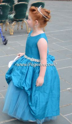 28f05ebd1b Flower Girl Dress Style 603 - DIANA Regal Collection