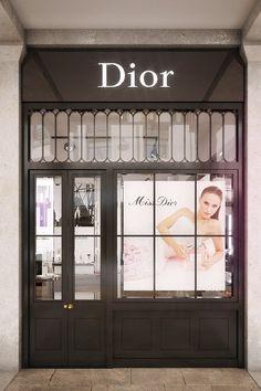 Dior Beauty Boutique: Covent Garden 2013 (Vogue.com UK)