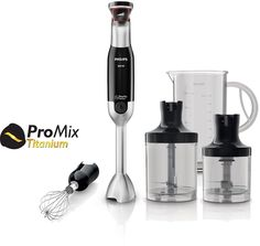 Philips Hand Blender Mixer Metal Bar Essentials Collection Set - Works as described. Best Juicer, Citrus Juicer, Espresso Coffee Machine, Coffee Maker, Hand Held Blender, Juicer Reviews, Juicer Machine, Smoothie Blender, Bowls