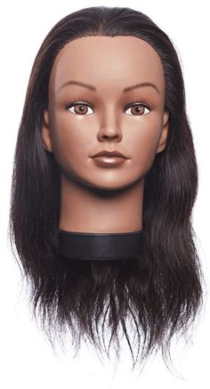 Salon Care Miss Chelsea Mannequin Head is great for practicing color application and styling. Salon Equipment, Mannequin Heads, Salons, Chelsea, Beauty, Color, Rose, Lounges, Pink