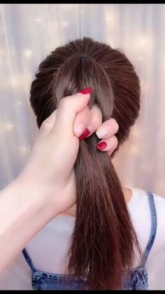 hairstyles for long hair videos Hairstyles Tutorials Compilation 2019 Part 92 short hair styles for girls - Hair Style Girl Little Girl Hairstyles, Hairstyles For School, Pretty Hairstyles, Braided Hairstyles, Kids Hairstyle, Girl Hair Dos, Hair Upstyles, Long Hair Video, Hair Videos