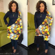 (PHOTOS) Can We Interest You In Some Sweet Coordinate Styles? African Wear Dresses, African Fashion Ankara, Latest African Fashion Dresses, African Print Fashion, Africa Fashion, African Attire, Fashion Prints, Ankara Styles, Fashion Outfits