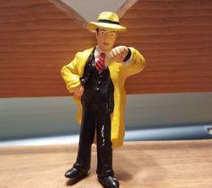 Disney Applause Dick Tracy PVC Figure/  Cake Topper  #Disney