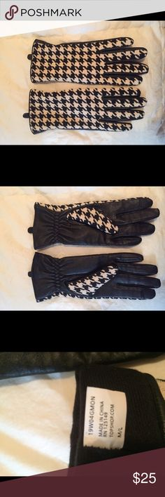 Topshhop winter gloves Never worn!! Excellent condition!! Topshop Accessories Gloves & Mittens