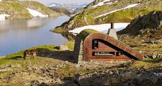 Norwegian Mountain Lodge Cabin