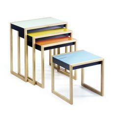 Alber's Nesting Table Set - Josef Alber
