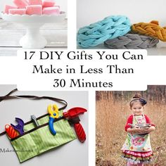 17 DIY Gifts You Can Make in Less Than 30 Minutes