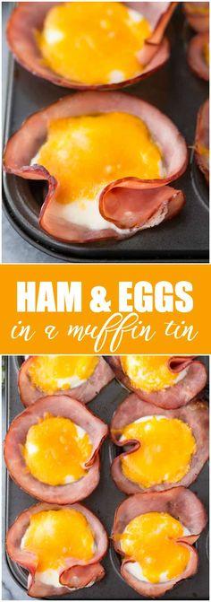 Breakfast Bake, Low Carb Breakfast, Breakfast For Dinner, Best Breakfast, Breakfast Casserole, Breakfast Ideas, Breakfast In Muffin Tins, Camping Breakfast, Diabetic Breakfast Recipes