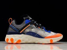 the best attitude 26dbb 3da4a Nike React Element 87 Thunder Blue Total Orange AQ1090-004 To Buy-5 Thunder