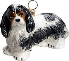 Pet Set Cavalier King Charles Spaniel Dog Ornament – For the Love Of Dogs - Shopping for a Cause