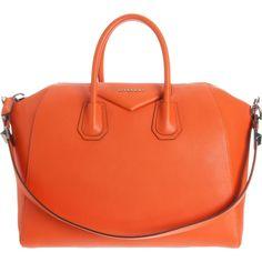 e05b6f75d2 The Givenchy Antigona duffle bag in orange Givenchy Handbags