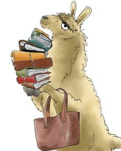 Spruce up your journal pages quickly with these fun and unique printable stickers! Alpacas, Llama Drawing, Llama Arts, Llama Face, Funny Llama, Llama Alpaca, Book Images, I Love Books, Book Art