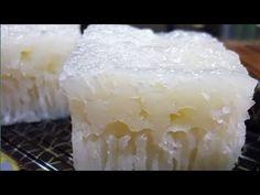 Easy Rice Cake Recipe, Chinese Steam Cake Recipe, Chinese Cake, Rice Cake Recipes, Baking Recipes, Dessert Recipes, Rice Puto Recipe, Steam Rice Recipe, Chinese Food