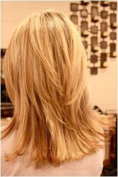 medium hair cuts | Choppy, Layered Hairstyles: Blunt Medium Haircut | Popular Haircuts by Dittekarina by kenya