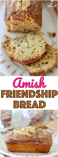 No-Starter Amish Friendship Bread recipe with Stevia In The Raw® from The Country Cook #ad #Amish #bread