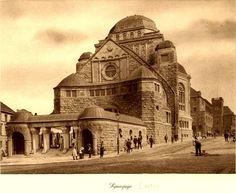 Synagogue pre war, Essene, Germany