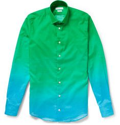 Richard James Slim-Fit Degradé Cotton Shirt