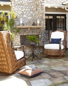 Royal Plantation Outdoor Chair Ottoman At Horchow Outdoor Chairs Balcony Table And