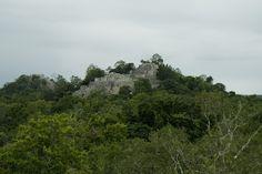 Mayan Ruin at Calakmul