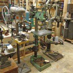 A few more antique drill presses