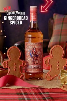 """'Tis the season for Captain Morgan Gingerbread Spiced, a new, limited time only way to say """"it might be cold outside but the good times are just heating up."""" Travel in Africa is more available to travelers than ever before. Don't pass it up. Fall Drinks, Holiday Drinks, Wine Drinks, Alcoholic Drinks, Beverages, Christmas Cookies, Christmas Diy, Christmas Decorations, Rum Bottle"""
