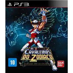 Jogo PS3 Cavaleiros do Zodíaco Batalha do Santuário
