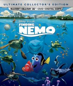 Black Friday 2014 Finding Nemo (Five-Disc Ultimate Collector's Edition: Blu-ray 3D/Blu-ray/DVD   Digital Copy) from DISNEY Cyber Monday
