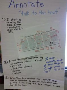 Annotate anchor chart @Jennie C. C. C. Brunold Donohue