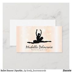 Business Cards, Place Cards, Sparkle, Place Card Holders, Ballet, Lipsense Business Cards, Ballet Dance, Name Cards, Dance Ballet