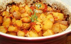 Rizskoch citromhéjjal | NOSALTY Potato Recipes, Meat Recipes, Quiche Muffins, Hungarian Recipes, Chana Masala, Sweet Potato, Potato Salad, Side Dishes, Food And Drink