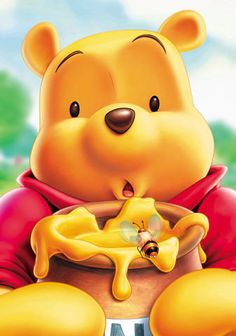 winnie the pooh - stuck in chimney jar