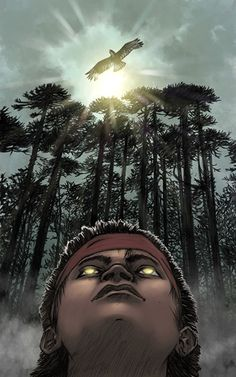 Rafael Nangari; un ilustrador en Chiloé.  Un lápiz guarda en su interior un mundo lleno de magia. Todo depende de la imaginación del ilustrador que use dicho lápiz.
