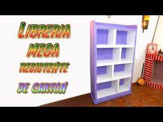 DIY Estantería hecha con Cartón para Libros - TUTORIALES muebles de cartón. Link download: http://www.getlinkyoutube.com/watch?v=VvWAQuOR_T4